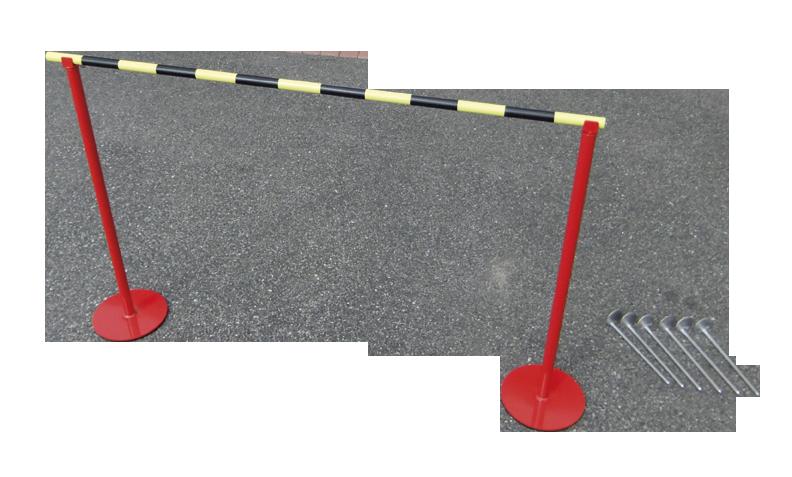 Stojan s laťkou 0,8m