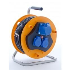 Buben navíjecí - kabel 40m 230V IP44 - 3x 1,5 PROFI