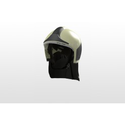 Přilba HPS 7000 PRO H1, fotolum zelená, čirý štít, nátylník