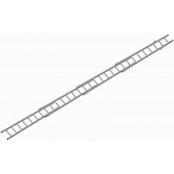 Žebřík nastavovací (čtyřdílný) Al/HN3L2 odlehčený