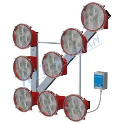 Světelná šipka SŠ8 LED s dálkovým ovládáním
