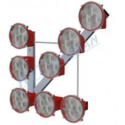 Světelná šipka SŠ8 LED s vypínačem