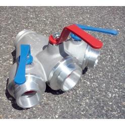 Kulový rozdělovač SDH plus - extra, barva - sevřené vývody C