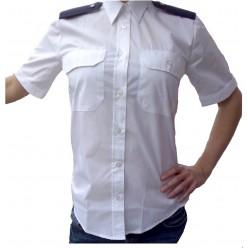 Halenka dámská bílá - krátký rukáv