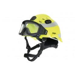 Přilba HPS 3500 signální žlutá + brýle