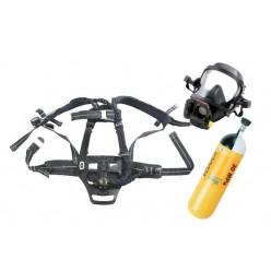 Dýchací přístroj PLUTO 300 Fireman set -nosič+ maska+lahev