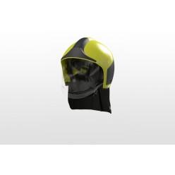 Přilba HPS 7000 PRO H1, signální žlutá, čirý štít, nátylník krátký Nomex