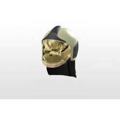 Přilba HPS 7000 PRO H1, fotolum zelená, zlatý štít, nátylník