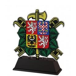 Trofej akrylátová FA210 M34  10 cm