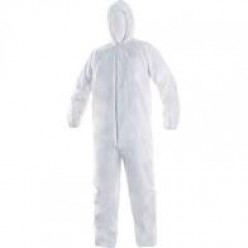 Oblek jednorázový  CXS OVERAL, bílý