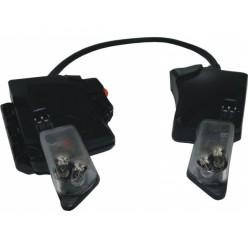 Svítilna XP LED integrovaná (k přilbě Gallet F1XF)