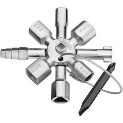 Klíč univerzální KNIPEX na rozvodové skříně 001101