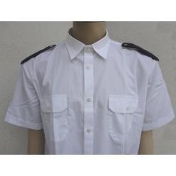 Košile bílá pánská - krátký rukáv