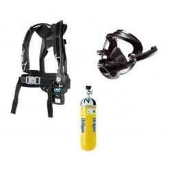 Set dýchací přístroj PSS4000 (nosič, maska - kandahár, láhev)