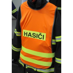 Vesta výstražná - nápis Hasiči - model 1