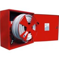 Hydrantový systém s tvarově stálou hadicí D25