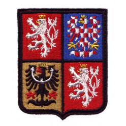 Nášivka znak ČR 65x81mm