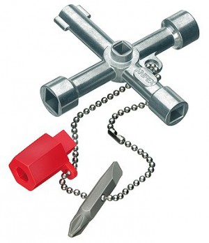 Klíč univerzální PROFI na rozvodné skříně 001103