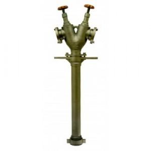 Hydrantový nástavec 2xB75 vřetenový