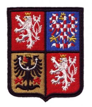 Znak nášivka ČR 50x60mm